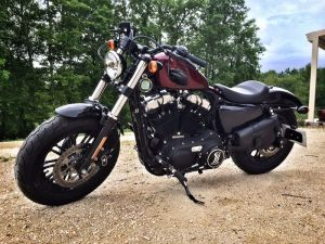 Sacoches Myleatherbikes Harley Sportster Forty Eight (32)